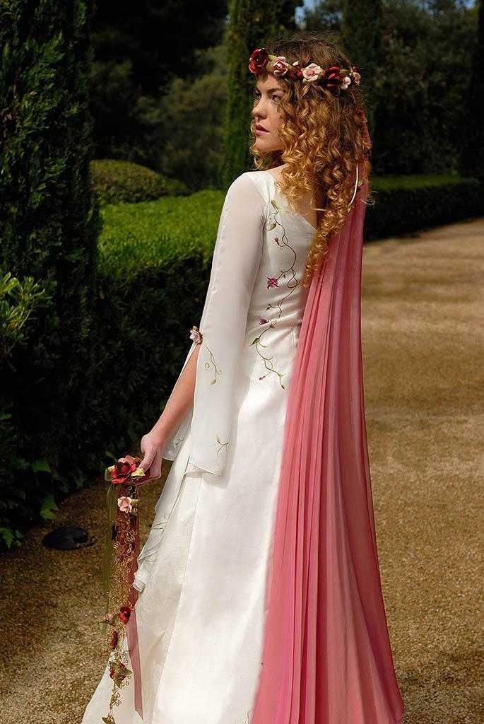 Medieval Dama Blanca