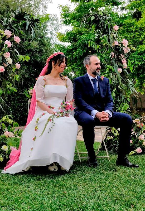 lluisa vila trajes novia Clara Mie Canet de Mar